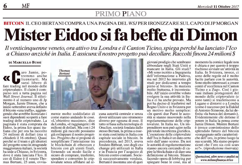 articolo-WSJ-Bertani-Eidoo