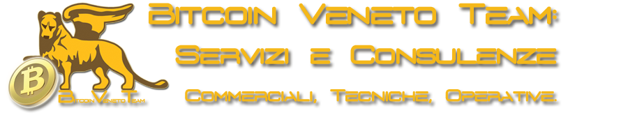 Bitcoin Veneto Team: Consulenze Operative, scambio Bitcoin di persona and more